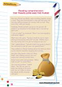 Reading comprehension: THE TRAVELLERS AND THE PURSE