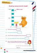 Reading measurements: length worksheet