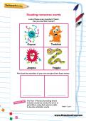 Reading nonsense words worksheet