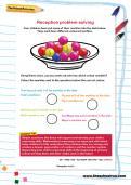 Reception problem-solving worksheet