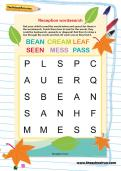 Reception wordsearch