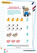 Recognising and counting numbers 0-10
