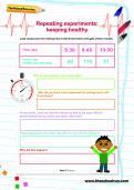 Repeating experiments worksheet