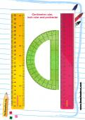 Ruler and protractor to download