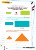 Scale factor problems worksheet