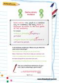 Semi-colons revision worksheet