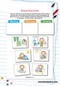 Sequencing events worksheet