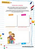 Similarities in families worksheet