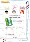 Similes poem worksheet