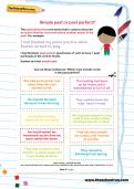 Simple past or past perfect worksheet