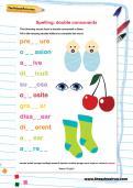 Spelling: double consonants worksheet