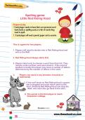 Spelling game: Little Red Riding Hood