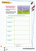 Spelling patterns: the prefix aqua- worksheet