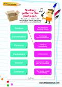 Spelling patterns: The prefix con- worksheet