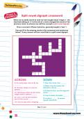 Split vowel digraph crossword