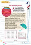 Spot apostrophe mistakes worksheet