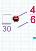 Subtracting fractions with different denominators tutorial part 2