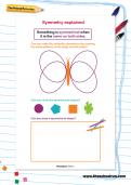 Symmetry explained worksheet