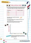 Tallies and bar charts worksheet