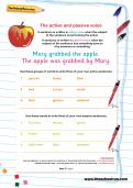 The active and passive voice worksheet