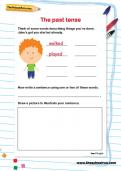 The past tense worksheet
