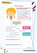 Their or there? worksheet
