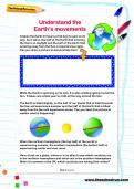 Understand the Earth's movements worksheet