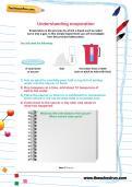 Understanding evaporation investigation