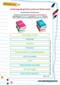 Understanding fiction and non-fiction texts worksheet