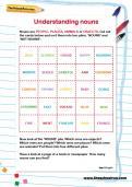 Understanding nouns worksheet