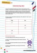 Understanding ratios worksheet