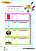 Useful gases around us worksheet