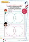 Venn diagram multiples investigation worksheet