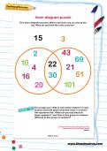 Venn diagram puzzle worksheet