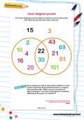 Venn diagram puzzle worksheet