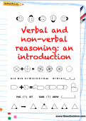 Verbal non-verbal reasoning pack cover
