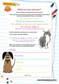 What are noun phrases worksheet