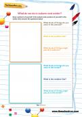 What do we do in autumn and winter worksheet