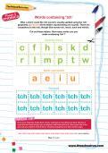 all spelling worksheets theschoolrun. Black Bedroom Furniture Sets. Home Design Ideas