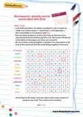 Identify words associated with time wordsearch