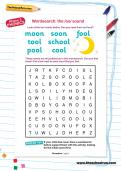 Wordsearch: the /oo/ sound