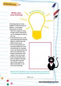 Write your own kenning worksheet
