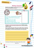 Writing a limerick worksheet