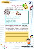 Writing a limerick worksheet