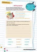 Writing speech worksheet