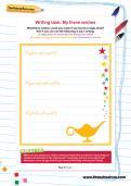 Writing task: My three wishes