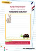 Writing your own version of The Hare and the Tortoise