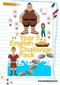 Year 3 English Challenge Pack