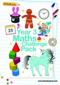 Year 3 Maths Challenge Pack