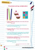 Y3 problem-solving: multiplication worksheet